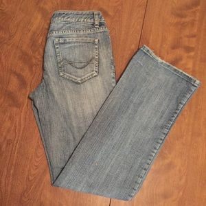 Mossimo bootcut jeans, size 9